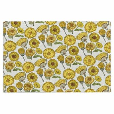 Calendula Flowers Doormat