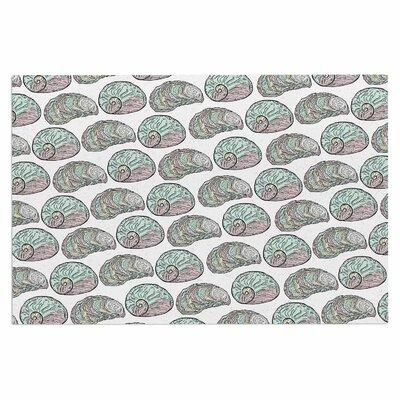 Retro Sea Shells Nautical Decorative Doormat