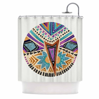 Multicultural Icon Shower Curtain