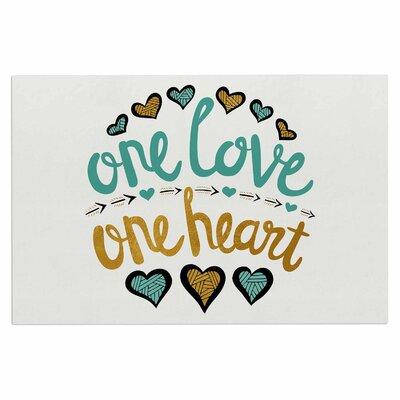 One Love One Heart Doormat