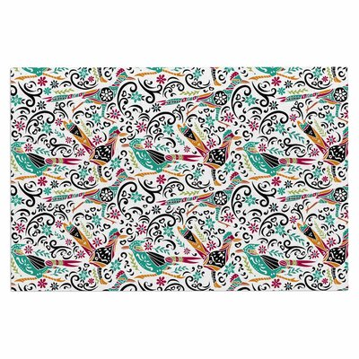 Otomi Folk Birds Doormat