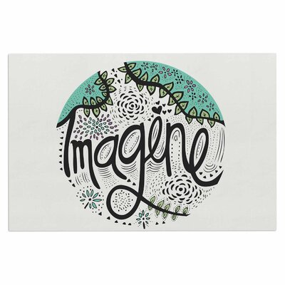 Imagine Nature Decorative Typography Doormat