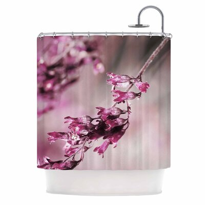 Rose Spangles Pattern Shower Curtain