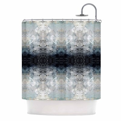 Heavenly Abstraction L Digital Shower Curtain