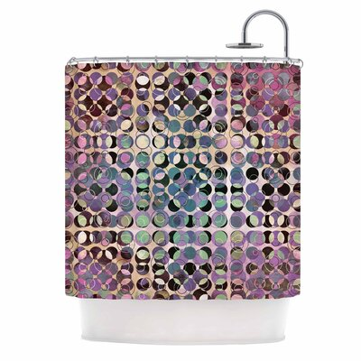 Melange of Circles III Shower Curtain
