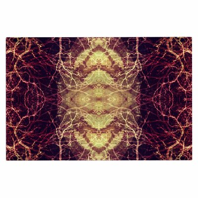 Burning Roots Iv Celestial Decorative Doormat