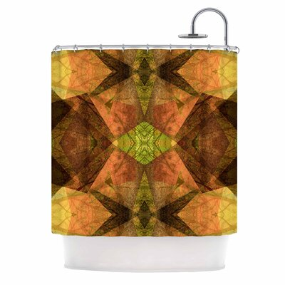 Pattern Garden No 7 Mixed Media Shower Curtain