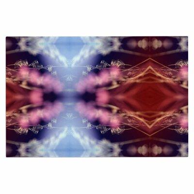 Abstract Floral Nature Decorative Doormat
