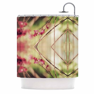 Pink Spangles No.10 Shower Curtain