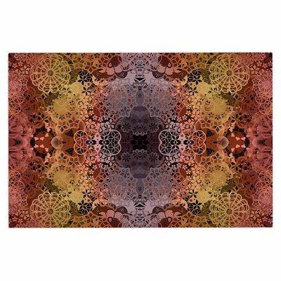 Floral Fall Pattern Doormat