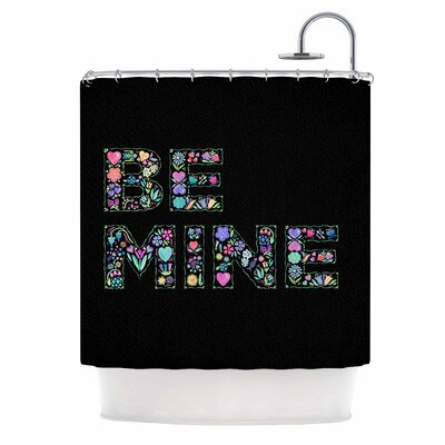 Be Mine Love Shower Curtain