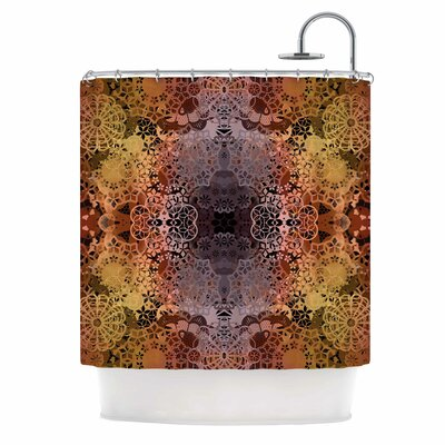 Floral Fall Pattern Shower Curtain