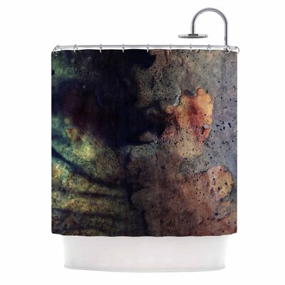 Abstraction No 12 Mixed Media Shower Curtain