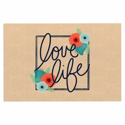 'Love Life' Doormat