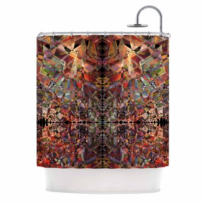 Mosaic - I Vector Shower Curtain
