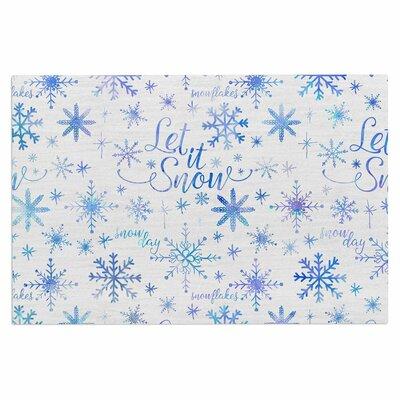 Let it Snow Winter Pattern Doormat