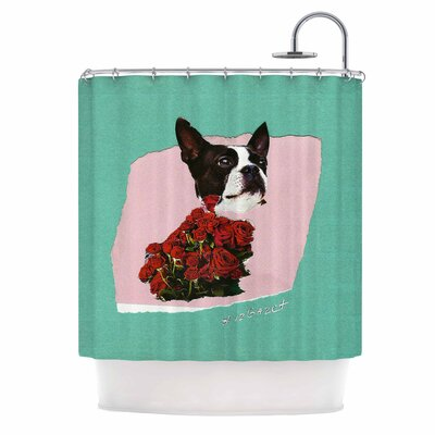 Bully Photography Shower Curtain