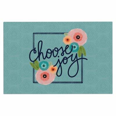 Choose Joy (Floral) Doormat