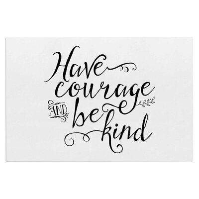 Have Courage and Be Kind Doormat