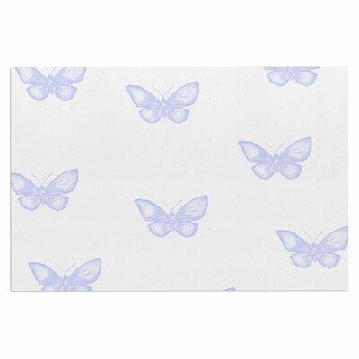 Many Lavender Butterflies Doormat