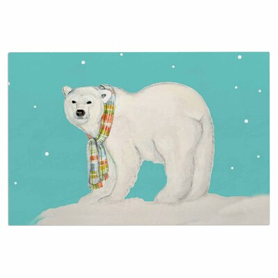 Chilly Snow Bear Doormat
