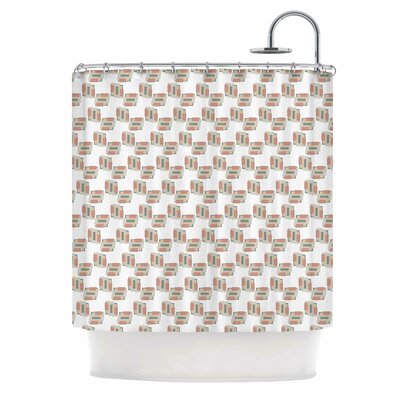 Geo 2 Shower Curtain