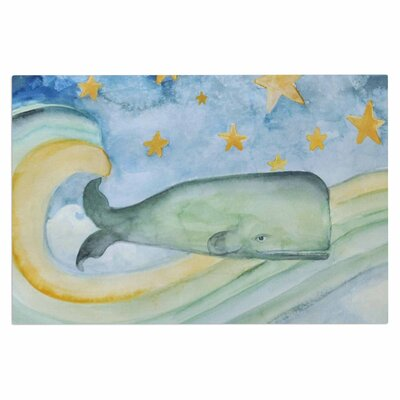 Swimming with the Stars Illustration Decorative Doormat