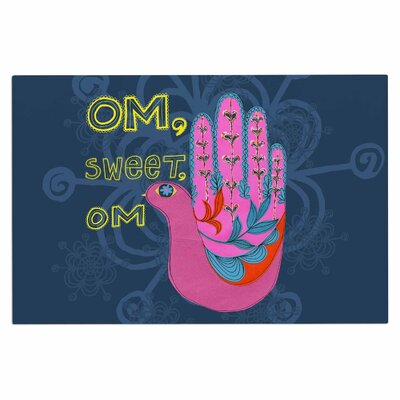 Om, Sweet, Om Ethnic Decorative Doormat