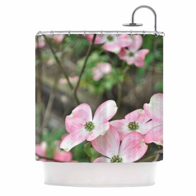 Spring Flowering Dogwood Shower Curtain