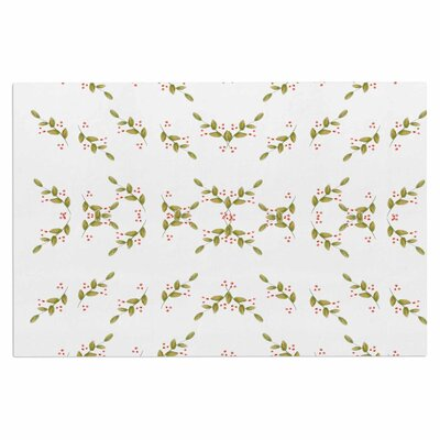 Holiday Holly Berries Doormat
