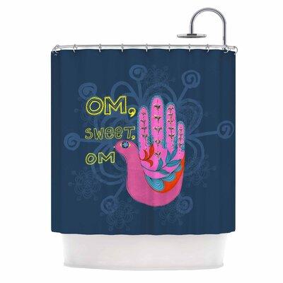 Om, Sweet, Om Ethnic Shower Curtain