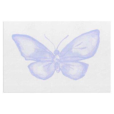 Lavender Butterfly Doormat