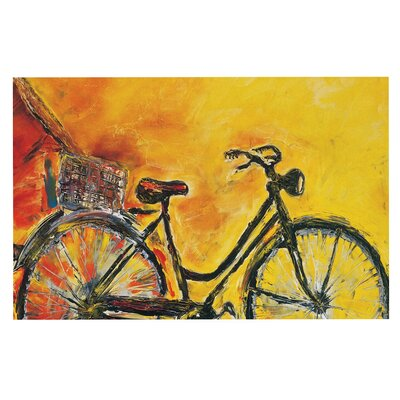 To Go Bicycle Decorative Doormat