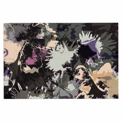 Punk Floral Doormat