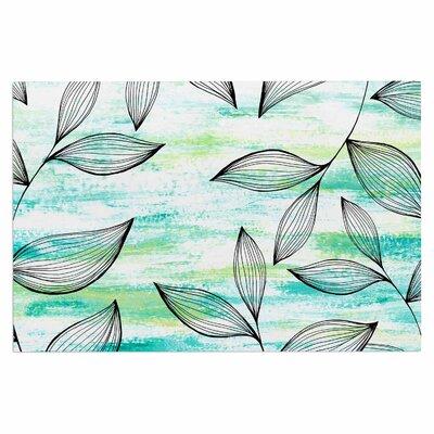 Tropical Leaf Garden Doormat