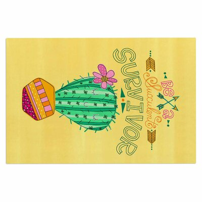 Be a Succulent Survivor Doormat