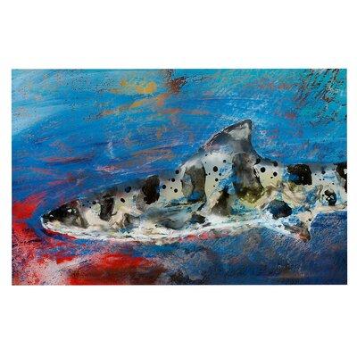 Sea Leopard Shark Decorative Doormat
