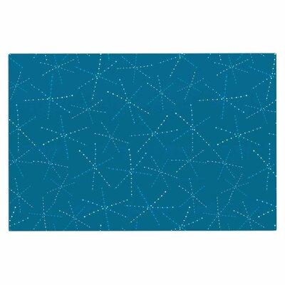 Cool Sparkle Starbursts Doormat