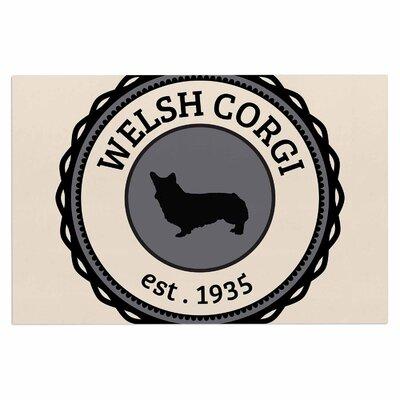 Welsh Corgi Dog Decorative Doormat