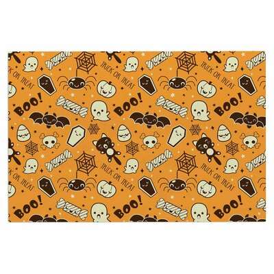 All Cute Halloween Doormat