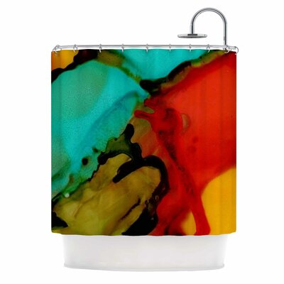 Caldera #1 Shower Curtain
