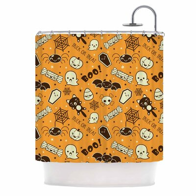 All Cute Halloween Shower Curtain
