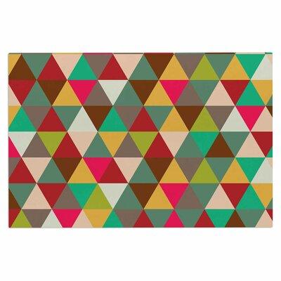 Autumn Triangle Spectrum Doormat
