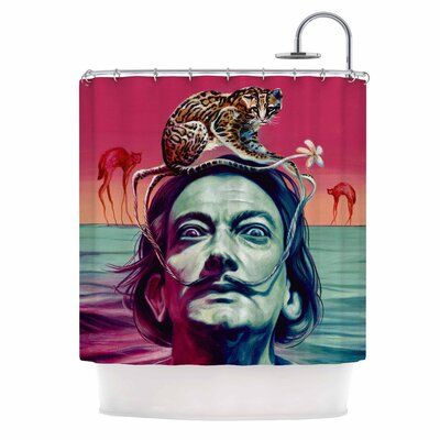 Babou Illustration Shower Curtain