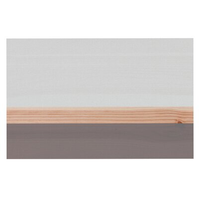 Spring Swatch - Grey Wood Decorative Doormat