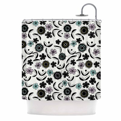 Artisan Floral Shower Curtain