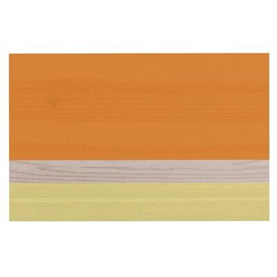 Spring Swatch - Tangerine Custard Doormat