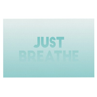 Just Breathe Doormat