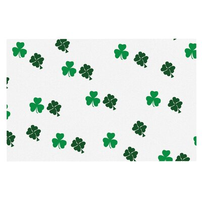 Shamrockin St. Patrick Decorative Doormat