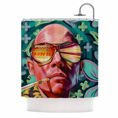 Bad Trip Pop Art Shower Curtain